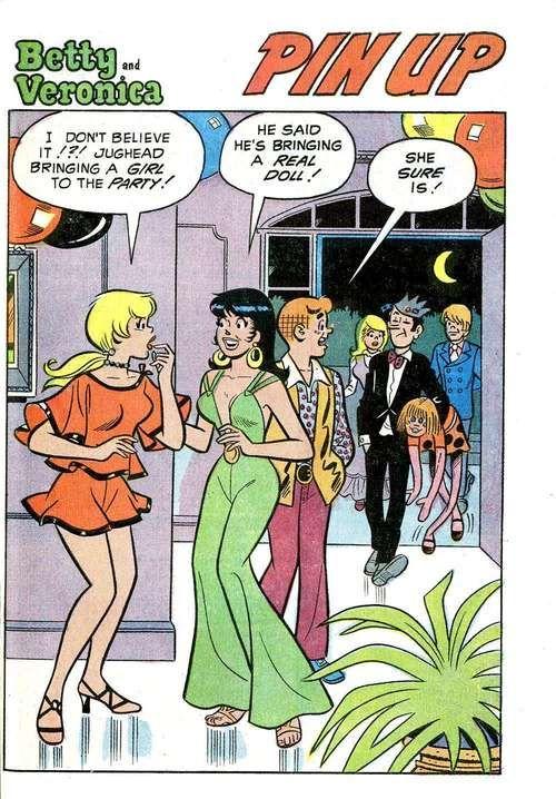Betty and Veronica Pin Up, Archie Comic Publications, Inc. https://www.pinterest.com/citygirlpideas/archie-comics/