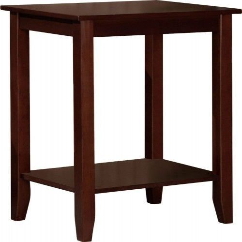 Wooden Tall Stand vintage Furniture Bedside Living Room Kitchen Hall Nightstand #DHP