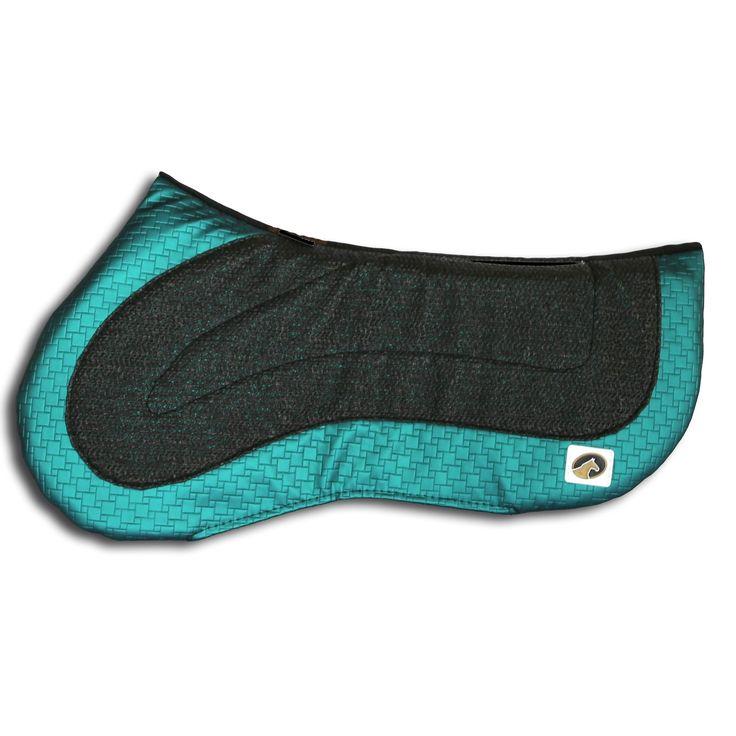 ECOGOLD FLIP Reversible Half Pad Jumper - Emerald Green