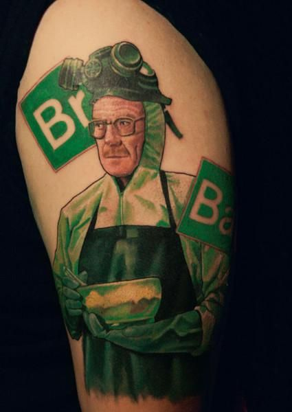 http://tattoomagz.com/breaking-bad-tattoos/  Breaking Bad tattoos