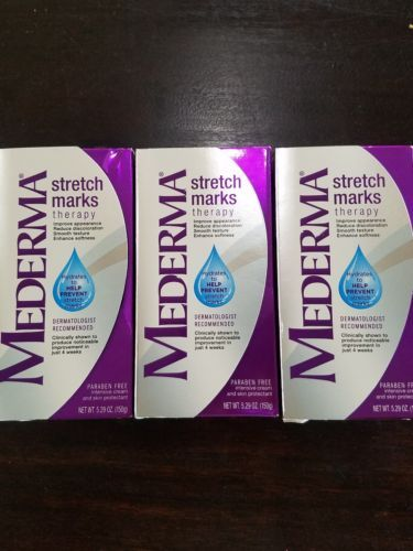 Scar and Stretch Mark Reducers: Mederma Stretch Marks(Pack Of 3) -> BUY IT NOW ONLY: $48 on eBay!