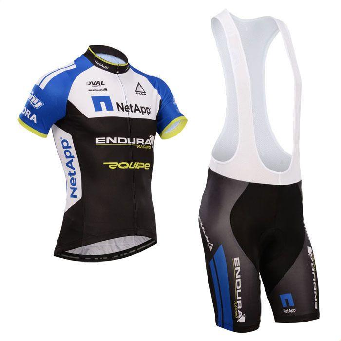 Купить товар2014 netapp одежда для велоспорта с pro netapp велоспорт джерси 100% полиэстер и велосипедные шорты гель колодки в категории Майки спортивныена AliExpress.