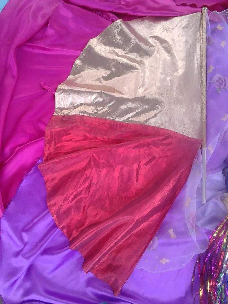 bandera de alabanza (instrumentos de danza cristiana)