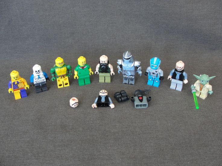 9 LEGOs Mini Figures Teenage Mutant Ninja Turtles Shredder parts MINIFIGS Yoda #Lego