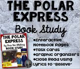 The Polar Express Book Study: Task Cards, Interactive Note