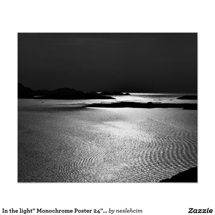 """In the light"""" Monochrome Poster 24""""x20"""" http://www.zazzle.com/in_the_light_monochrome_poster_24_x20-228420135794155933"""