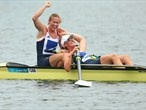 Rowing gold for Team GB