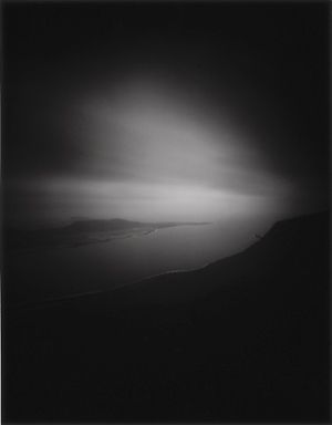 Night 2 - Spain 1 - 1999, Gelatin Silver prints from Black & White Pinhole negatives, 80 x 100 cm, by Chrystel Lebas