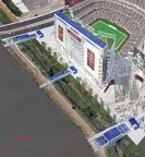 The 49ers new Santa Clara stadium will be one of the most sustainable sports facilities in the United States. They announced today plans to add a 400kW solar system to their already green roof. Hopefully this is the beginning of more solar in sports.  https://www.facebook.com/syndicatedsolarinc?fref=ts