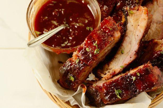 Recette facile de côtes levées au vin rouge sur le barbecue!