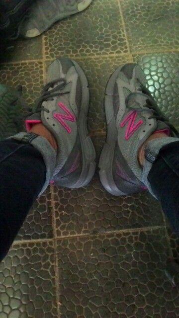 New balance shoes. I like this colour