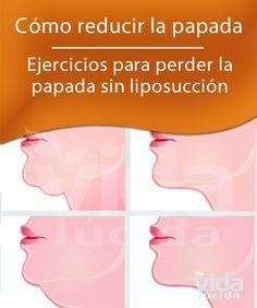 Ejercicios para reducir la papada sin intervención quirúrgica #papada #ejercicio #gim
