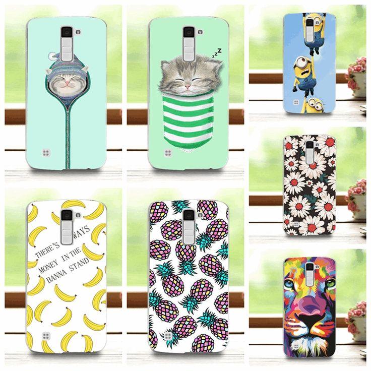 2016 Fashion Fruit Art printed Case For LG K10 / M2 F670 Hard Plastic Case For LG K10 K410 K420N K430DS K430DSF / LG M2 Cover