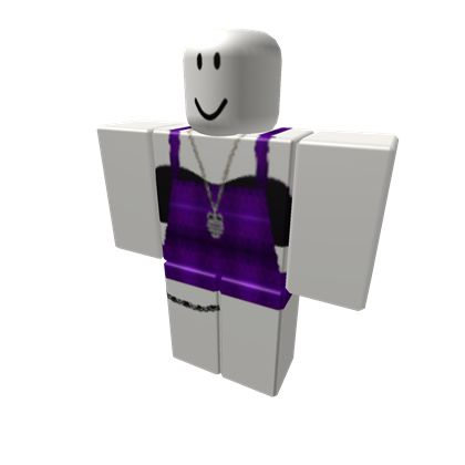 Purple Overalls - ROBLOX | Roblox shirt, Purple outfits ...