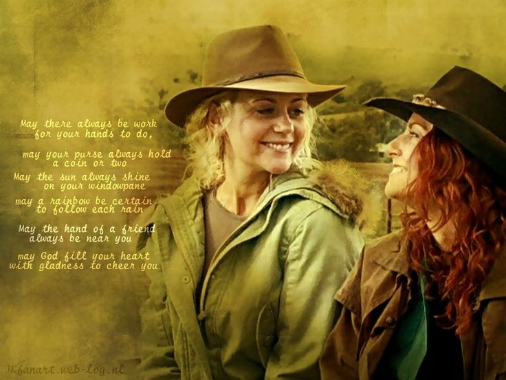 Mcleod's daughters-love this quote