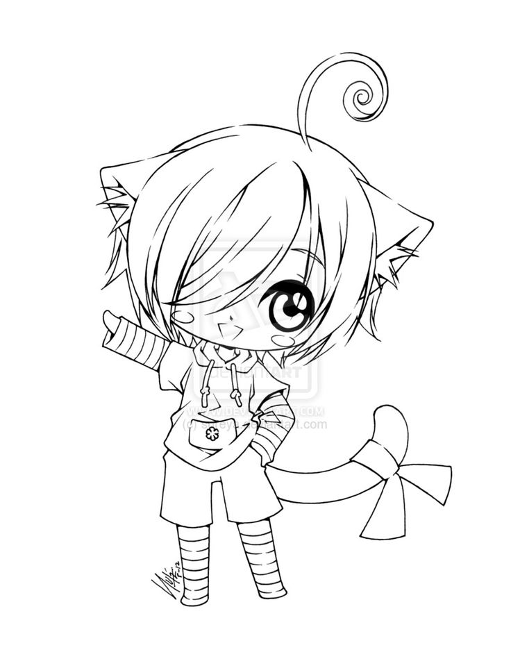 435 best images about coloring book pages 2 on pinterest - Coloriage chibi ...