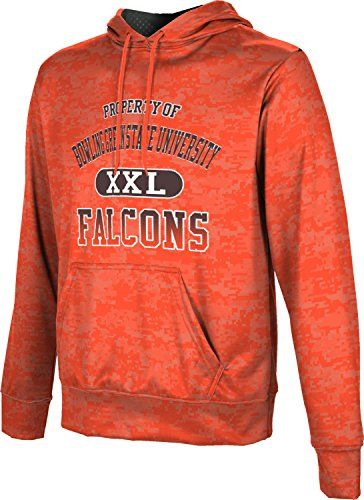 Mens Bowling Green State University Community College Digital Pullover Hoodie ** Read more at the image link.