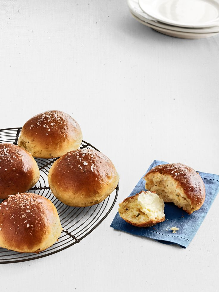 Rosemary Brioche Rolls. A great Easter recipe.