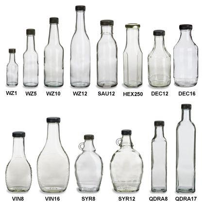 Specialty Bottle - Sauce Glass Bottles