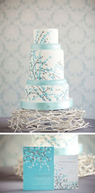 Love this cake! maybe in fall colors