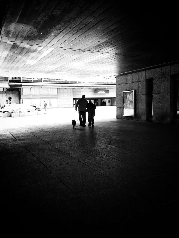 Three of a Perfect Pair... iPhone 6, Snapseed, ND, Prague Instagram & EyeEm @majklb