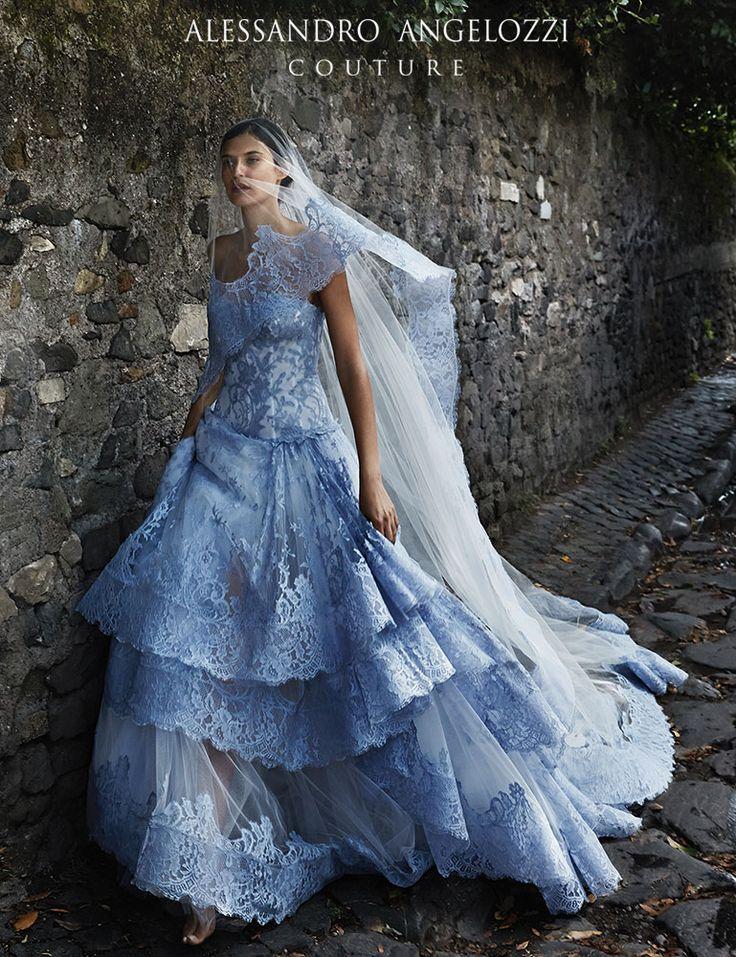 #Weddingdress2015 #AlessandroAngelozziCouture #BiancaBalti #Wedding