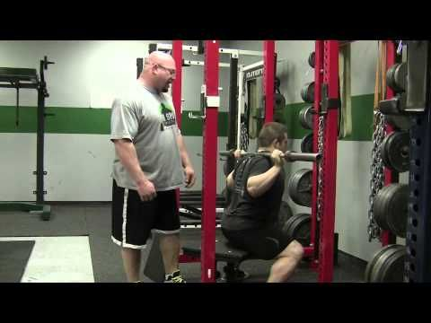 EliteFTS.com Friday Technique Video - How to perform the box squat