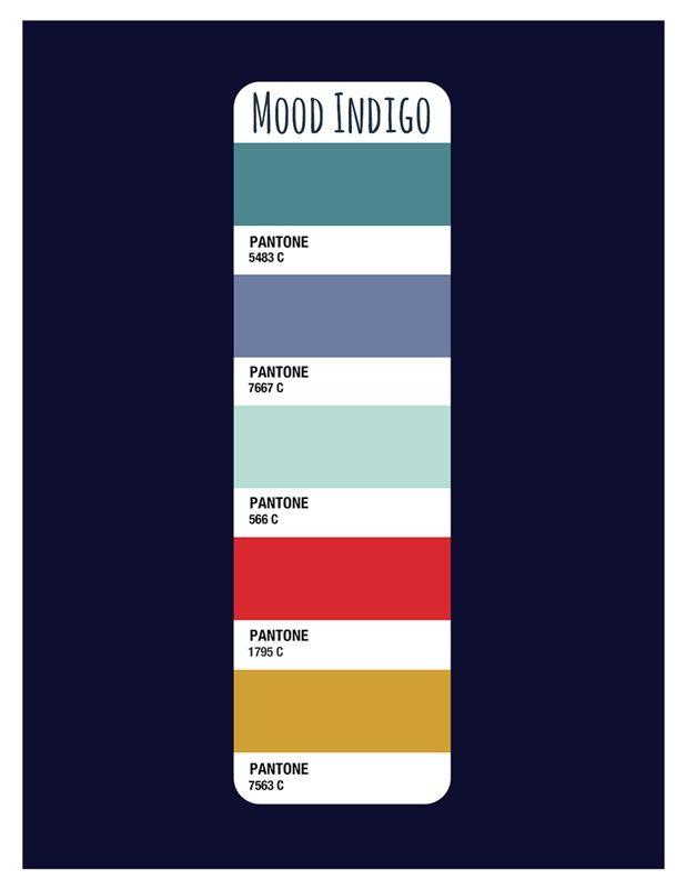 Mood Indigo Color Palette Beth Mathews Design