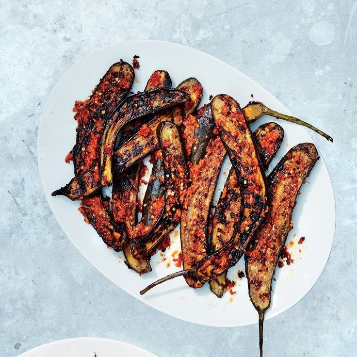 Red Curry Marinated Japanese Eggplant Recipe In 2020 Marinated Eggplant Recipe Japanese Eggplant Recipes Eggplant Recipes