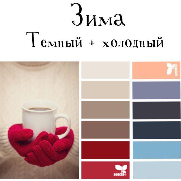 Цветотип - зима by sakiyaeva on Polyvore featuring polyvore beauty