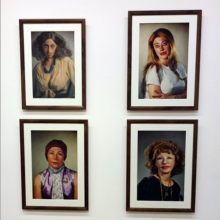 Concepts of identity.. For 40 years Cindy Sherman has been using herself as a model.