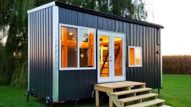 Custom hand built full offgrid tiny house on wheels