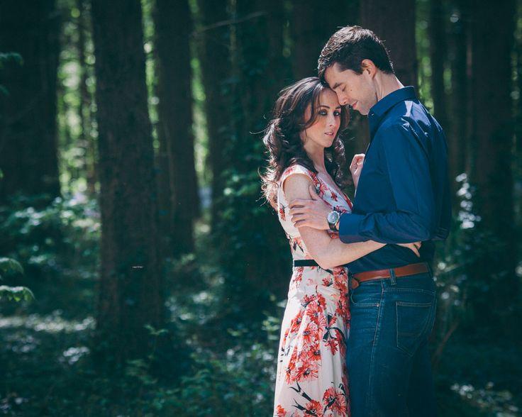 Karl and Wendy | Pre-Wedding Photography | Kilinthomas Wood Kildare