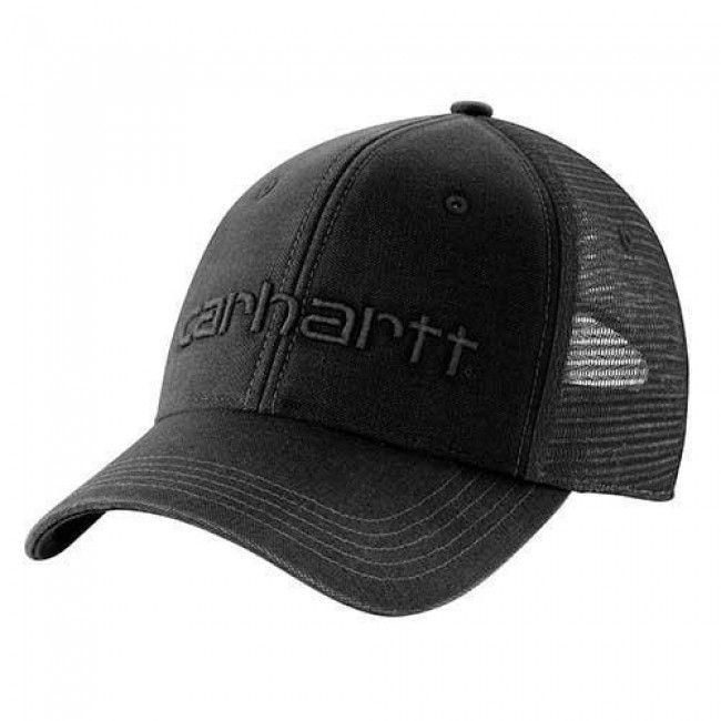 Carhartt Dunmore Ball Cap - Black. #Carhartt logo embroidered on front