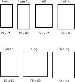 Best 25 Bed size charts ideas on Pinterest Bed sizes King size