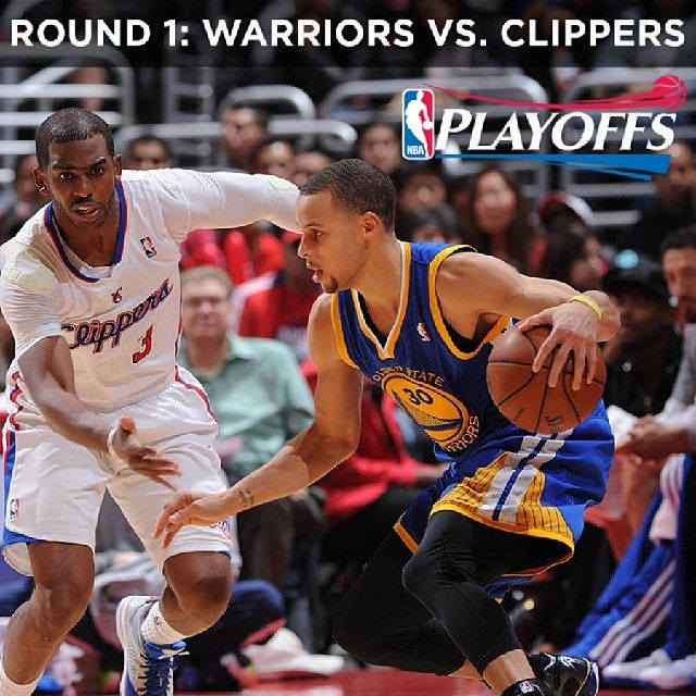IT'S OFFICIAL: The #Warriors will play the Los Angeles Clippers in the first round of the #NBAPlayoffs. This was confirmed with the Thunder's win tonight in Oklahoma City. The first round playoff schedule will be announced later tonight, and you can sign up for the Warriors Playoff Ticket Pre-Sale at warriors.com/playoffs