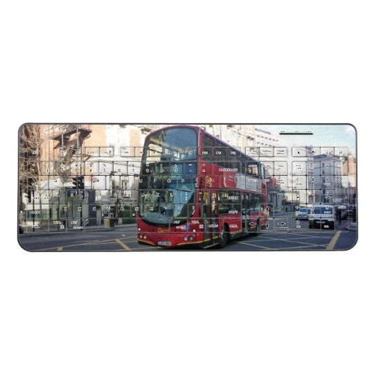London Bus Wireless Keyboard