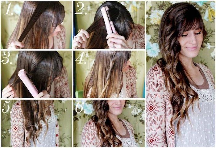 1001 Ideen Fur Locken Mit Lockenstab Frisuren Zu Besonderen Anlassen Locken Machen Locken Mit Lockenstab Haar Styling
