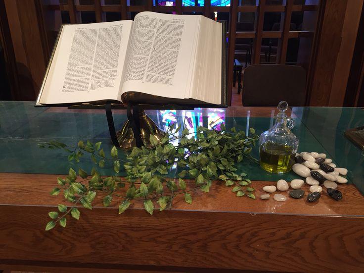 1 Samuel 10 and 1 Samuel 15 sermon series altar