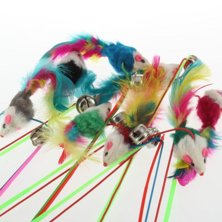 1 pc Para Pet Cat Sino O Dangle Faux Rato Rod Roped Engraçado Fun Jogar Toy Play Nova chegada em Brinquedos para Gato de Home & Garden no AliExpress.com | Alibaba Group