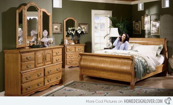 15 Oak Bedroom Furniture Sets