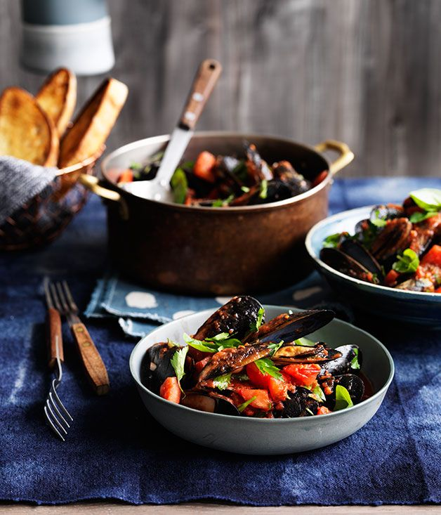 Recipe for mussels with chilli, garlic and white wine from Bar Alto in Brisbane.