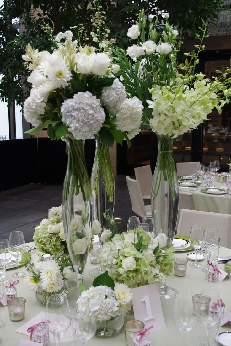 Beautiful Bridal Table Cluster
