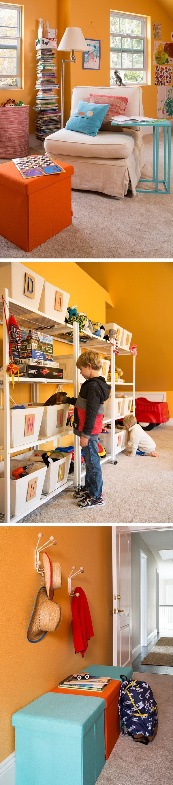 Beautiful Playing It Cool   Creative Toy Storage And Fun Zones For Two California  Kiddos. Toy OrganizationContainer StoreThe ...