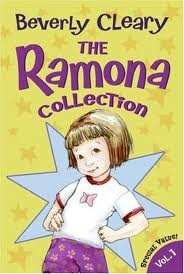 The Ramona books by Beverly Cleary are about Ramona Quimby and her family, including her older sister, Beezus.  Ramona grows from age four to ten in the series and has plenty of funny mishaps along the way.  There are also some books about Henry Huggins, one of the characters in the Ramona books.