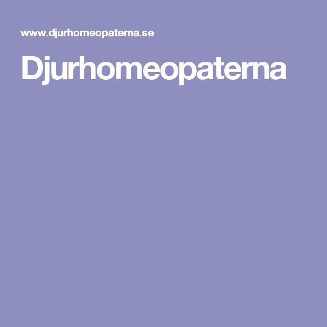 Djurhomeopaterna