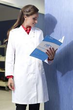 PAGAMENTO ANCHE ALLA CONSEGNA Camice da lavoro Donna Medico Sanitario Dottore Farmacista Abbigliamento Abiti