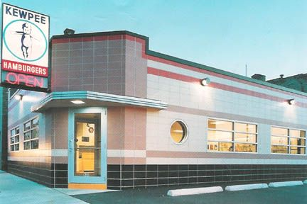 A Racine Tradition - Kewpee. Born before the big chain restaurants were even launched, Kewpee has been making burgers for years. And you can still experience it like it was years ago in Racine.