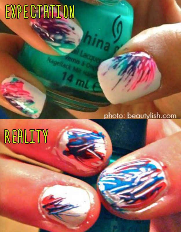 15 best nail art fail images on pinterest ha ha nail artist and if you dont have a super light touch and great brush control then you must wait for the base color to dry find this pin and more on nail art fail sciox Gallery