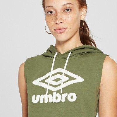 38719972c90 Umbro Women's Sleeveless Sweatshirt - Dark Green XXL | Products ...